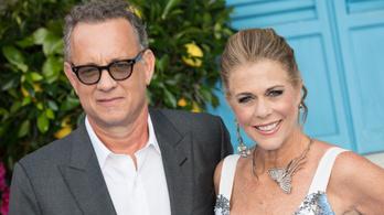 Kiengedték a kórházból a koronavírusos Tom Hankst és feleségét
