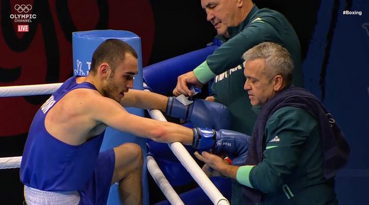 Gálos Roland az olimpiai selejtezőn