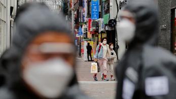 Dél-Koreában már harmadik napja stagnál az új fertőzöttek száma