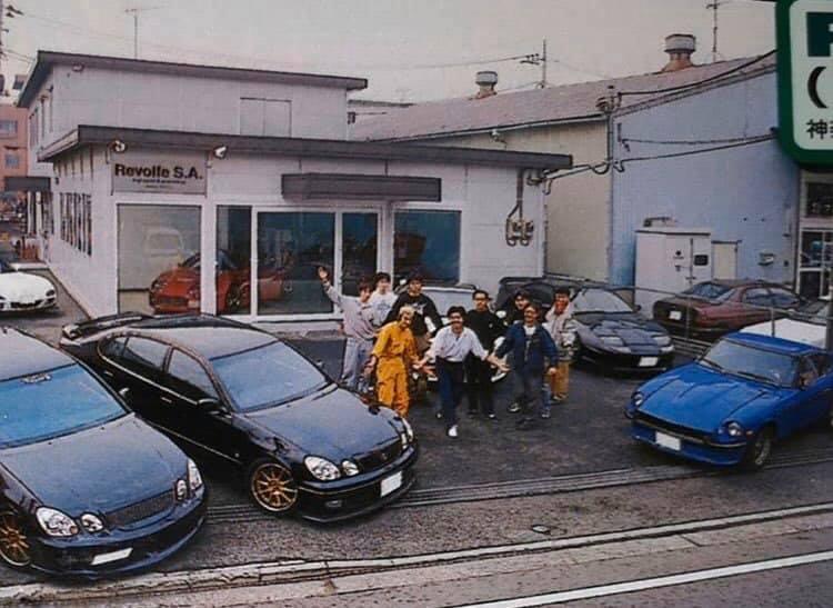 A Lexus GS 300 Japánban Toyota Aristo néven futott, vélhetően 1997 után készült fotó
