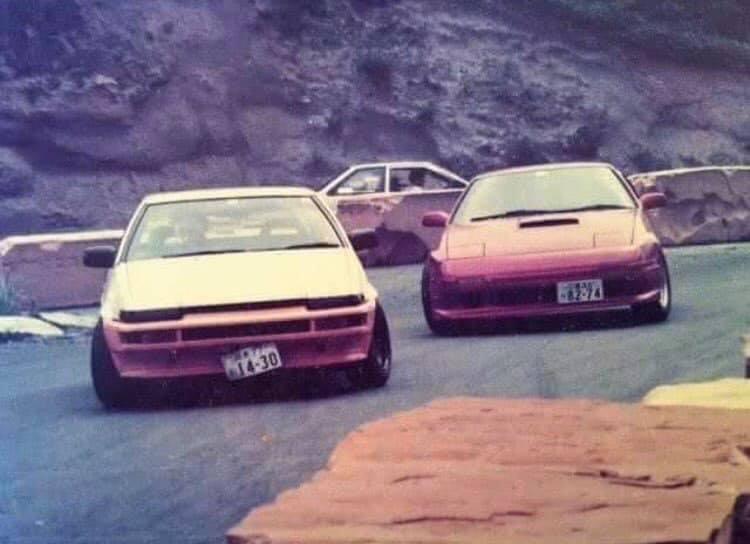 Talán a legjapánabb autós kép, ami valaha készült