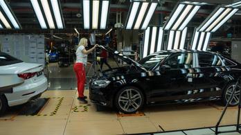 Audi Hungária: hétfőtől leállunk