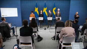 Koronavírus: hatodára csökkent a svéd parlament létszáma