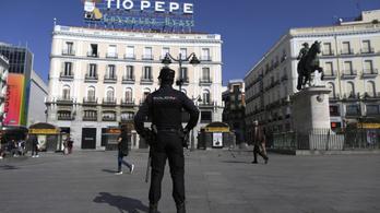 155 új halálos áldozata van a koronavírusnak Spanyolországban