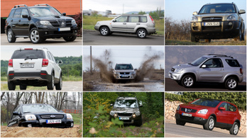 SUV-őrület: ezt kapod kétmillióért