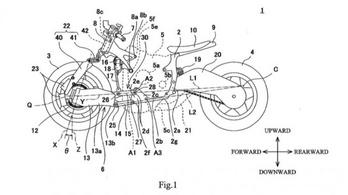 Bimota stílusú első futóművet szabadalmaztatott a Kawasaki