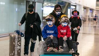 Megugrott az új napi fertőzöttek száma Hongkongban