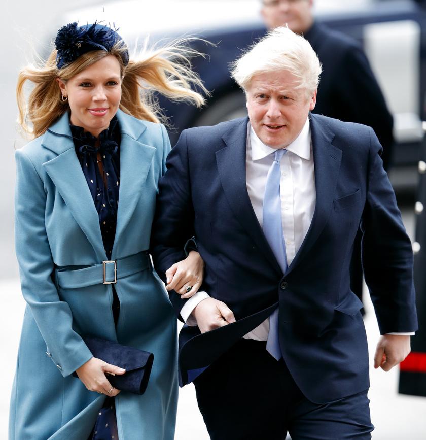 Boris Johnsont és Carrie Symondsot március 9-én, a Nemzetközösség napján fotózták le utoljára együtt.