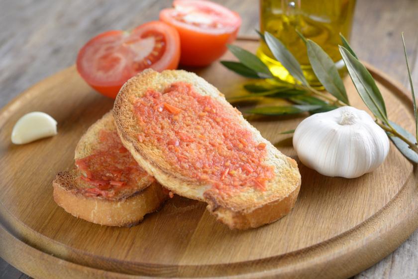 katalán pirítós recept