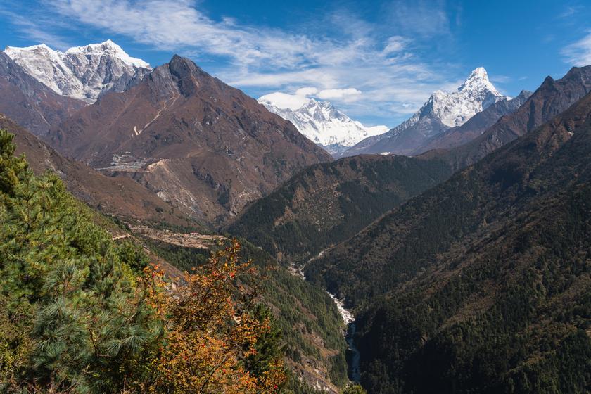 mount everest himalaja zold novenyek nepal