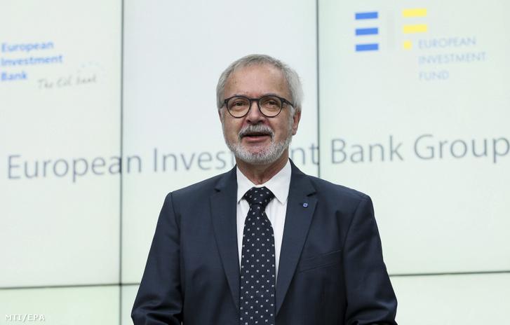 Werner Hoyer az Európai Beruházási Bank (EIB) elnöke