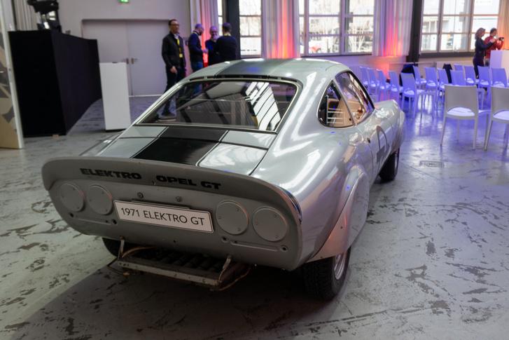 Sebességrekorder Opel GT-electric