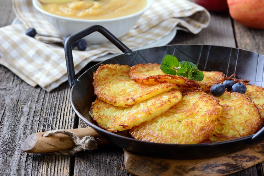 Puha, sós krumplipalacsinta – Lágy tésztájú finomság fillérekből