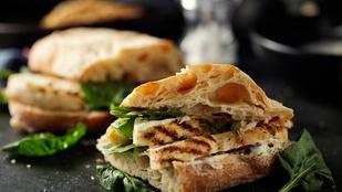 Így lesz elegánsabb a munkahelyi ebéded – csirkés szendvics szarvasgombával