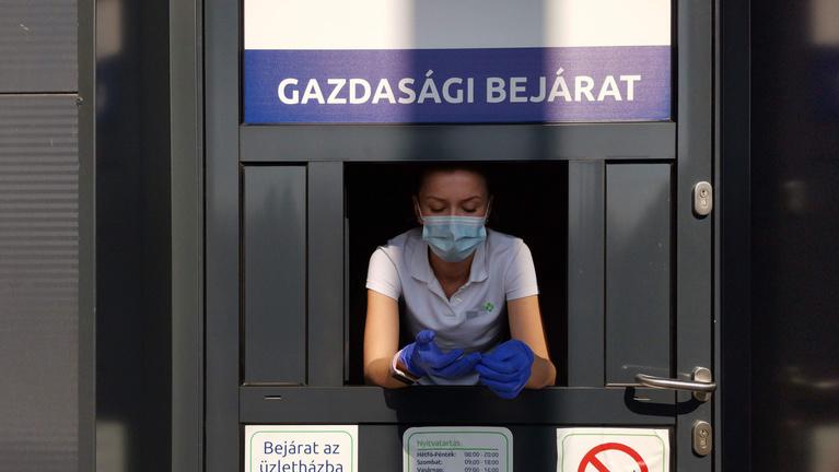 Szájmaszkért és kesztyűért esedeznek a gyógyszertárak