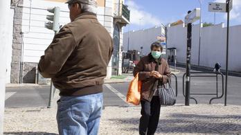 Portugália rendkívüli helyzetet hirdetett a járvány miatt