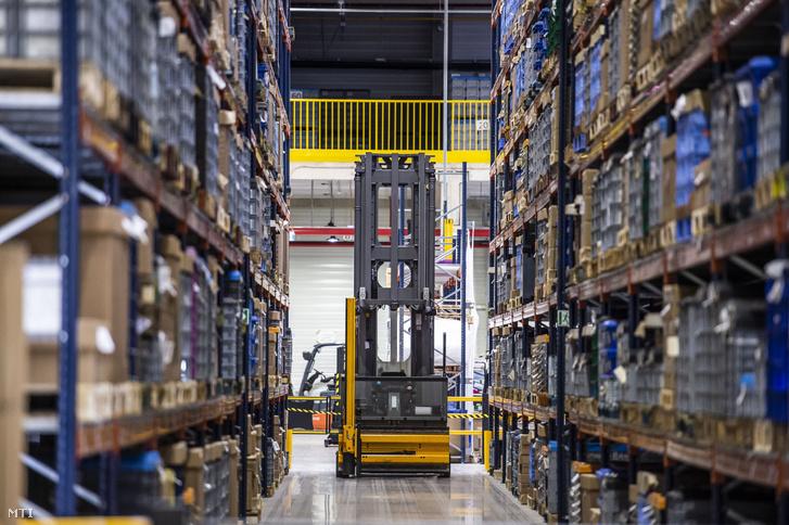 A Denso Gyártó Magyarország Kft. székesfehérvári logisztikai központja az átadóünnepség napján 2019. szeptember 20-án.