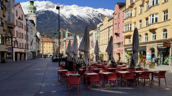 Tirolban az összes települést karantén alá helyezik