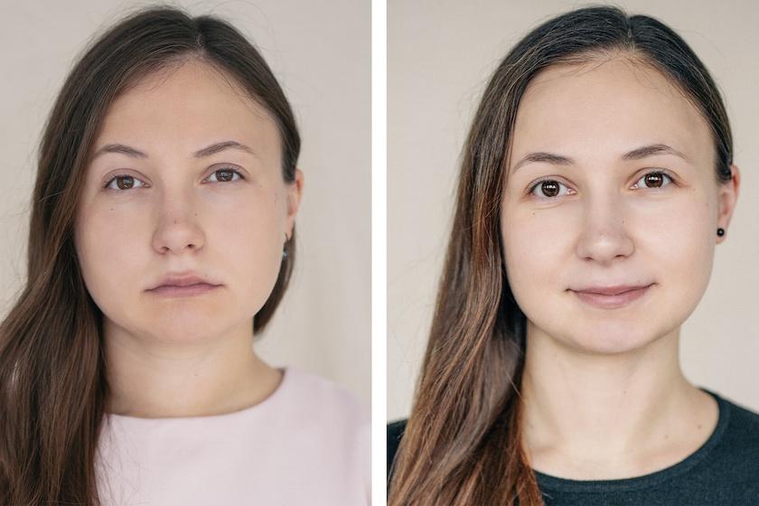 Így változik meg egy nő arca, miután anya lesz - Csodálatos fotók készültek