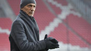 Leváltotta olasz edzőjét a Budapest Honvéd