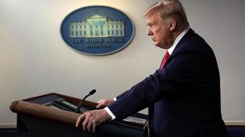 Háborús retorikára váltott Trump a járvány kapcsán