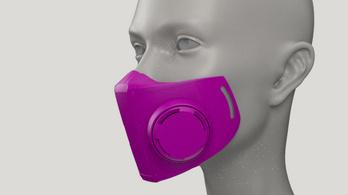 Itt a 3D-ben printelhető védőmaszk