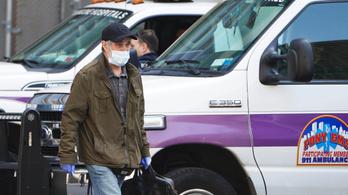 50 millió sebészi maszk kellene New Yorkba, vagy baj lesz