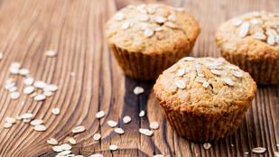 Gluténmentes almás-zabpelyhes muffin: ízletes és egyszerű reggeli
