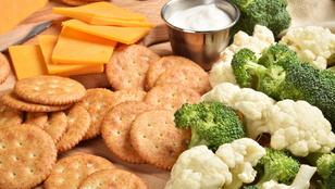 Gluténmentes sajtos kréker