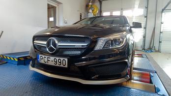 Totalcar Erőmérő: Mercedes CLA 45 AMG