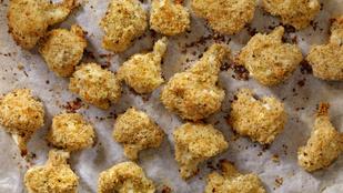 Ropogós sült karfiol glutén- és tojásmentesen
