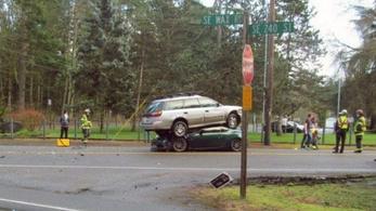 Nem mindennapi kimenetele lett a balesetnek