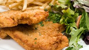 A gluténmentes rántott hús egy újabb verziója