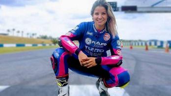 Meghalt egy motorversenyzőnő Brazíliában