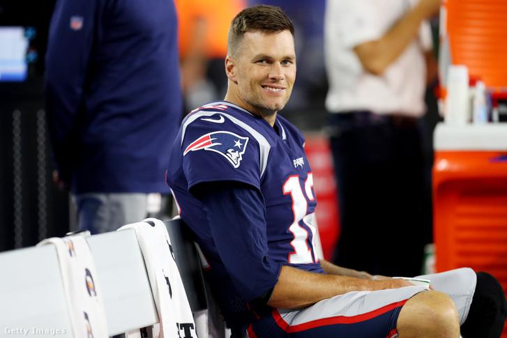 Tom Brady egy 2019-es mérkőzésen