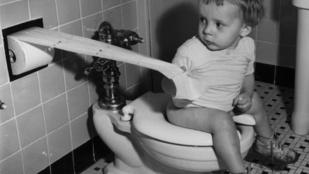 Mit használtak az emberek a vécépapír feltalálása előtt?