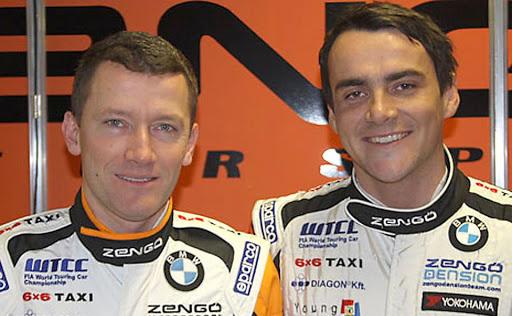 Wéber Gábor és Michelisz Norbert
