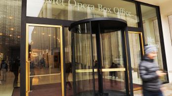 A Metropolitan Opera törölte az évadát, 60 millió dollárt bukhatnak