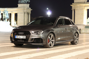 RS Audi a pokolból: 500 lóerő elég lesz?