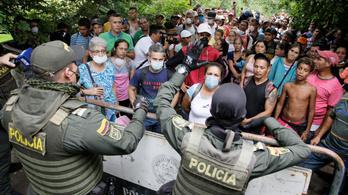 Kolumbiában is jön a kijárási tilalom a koronavírus miatt