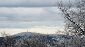 Havas eső és havazás is várható Magyarország magasabb pontjain