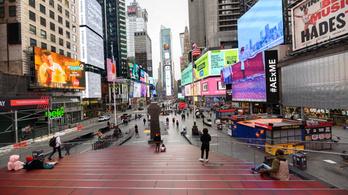 Az amerikai fertőzések nagyjából felét New York államban regisztrálták