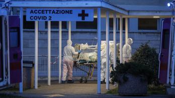 Olaszországban 793 ember halt meg egyetlen nap alatt a vírusban