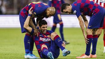 Luis Suárez sokkal hamarabb visszatérhet, mint gondolták