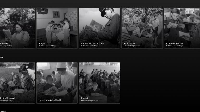 Több száz hangoskönyvet tett ingyen elérhetővé a közmédia