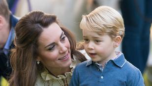 Kate Middleton megmutatta, mit kapott Györgytől anyák napjára