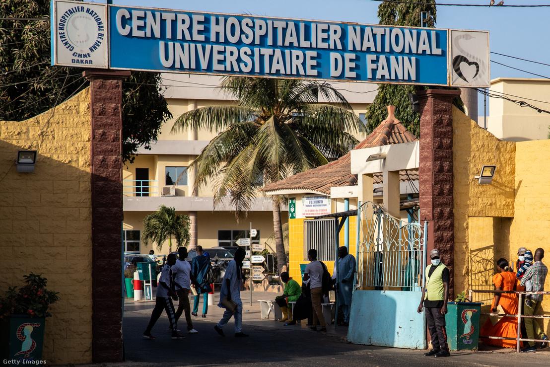 Kórház a szenegáli Dakarban 2020. március 6-án.