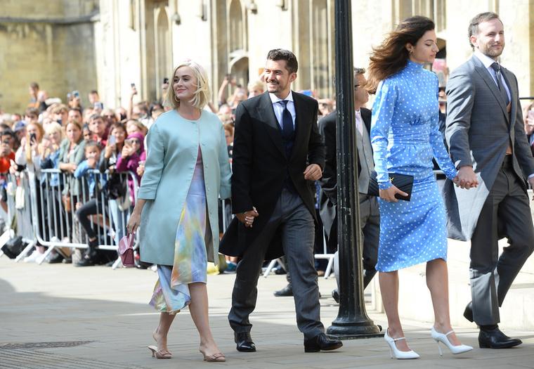 Ez a kép 2019 nyarának legvégén készült, a pár Ellie Goulding angol énekesnő esküvőjére volt hivatalos