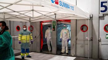4300 új fertőzött, 410 új halott Spanyolországban