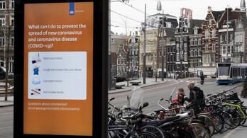 Meredeken emelkedik az igazoltan fertőzöttek száma Belgiumban és Hollandiában